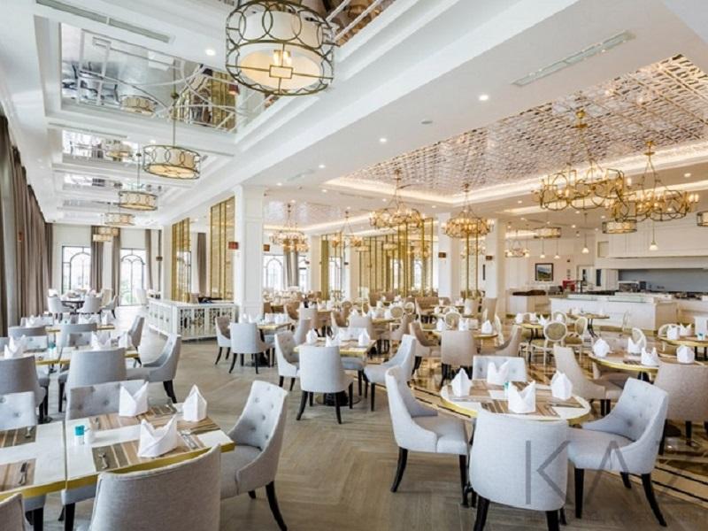 Thiết kế hội trường cưới cho nhà hàng đạt chuẩn