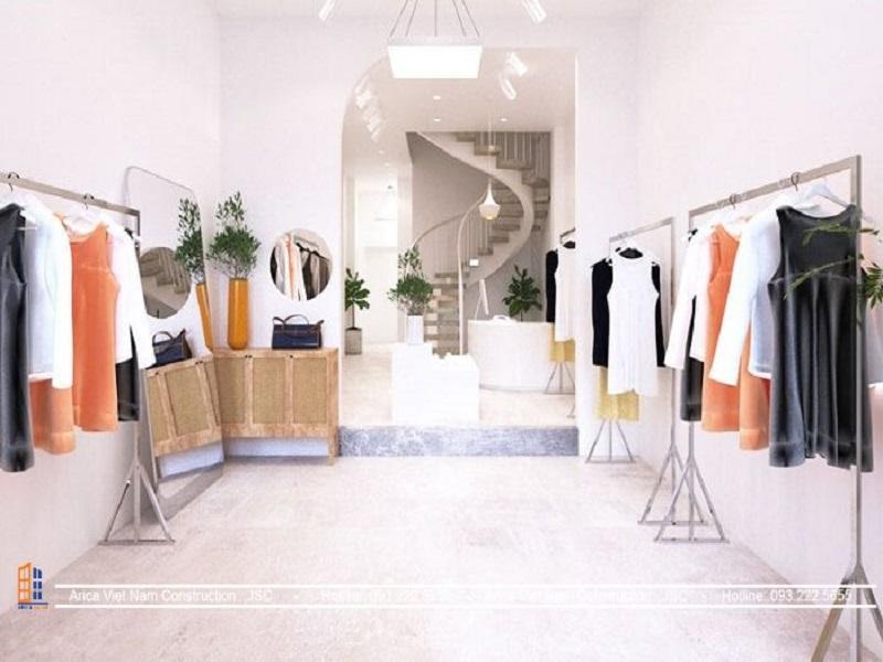 Gợi ý thiết kế màu sắc showroom thời trang